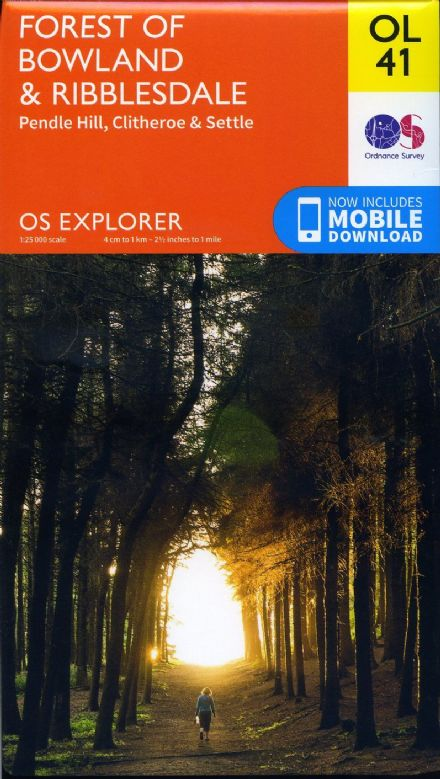 OS Explorer OL 41 Forest of Bowland & Ribblesdale